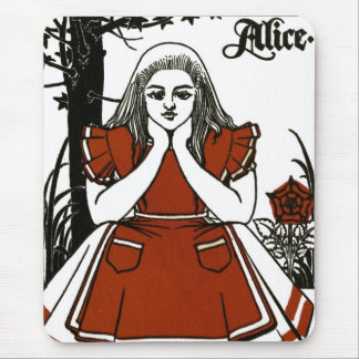 Alice In Wonderland; A Play. Alice Mouse Pad