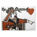 Alice In Wonderland; A Play. The Queen of Hearts Cloth Placemat