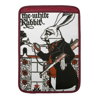 Alice In Wonderland; A Play. The White Rabbit MacBook Sleeve
