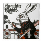 Alice In Wonderland; A Play. The White Rabbit Ceramic Tile