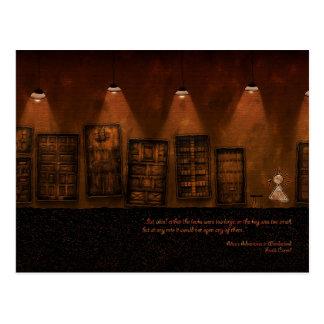 Alice in Wonderland - A Tiny Golden Key Postcards