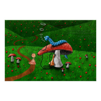 Alice in Wonderland - Advice From A Caterpillar Poster