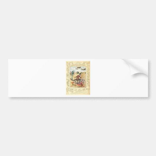 Alice in Wonderland Aged Aged Man Bumper Sticker