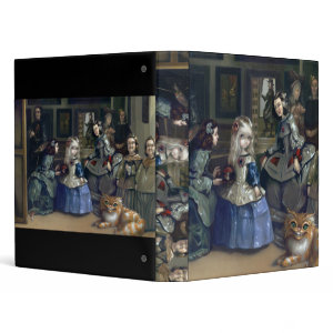 Alice in Wonderland: Alice and Las Meninas BINDER binder