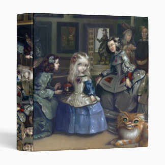 Alice in Wonderland: Alice and Las Meninas BINDER