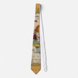 Alice in Wonderland: Alice and the Flamingo Tie