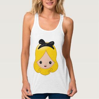 Alice in Wonderland   Alice Emoji 2 Tank Top