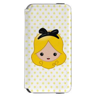 Alice in Wonderland | Alice Emoji iPhone 6/6s Wallet Case