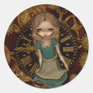 Alice in Wonderland Alice In Clockwork Sticker