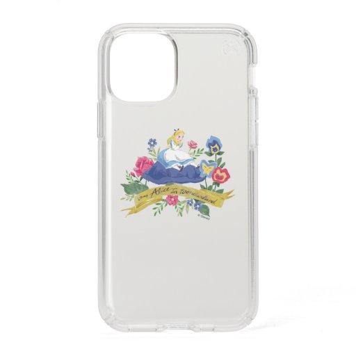 Alice In Wonderland   Alice in Watercolor Speck iPhone 11 Pro Case