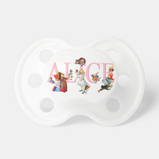 Alice in Wonderland and Friends BooginHead Pacifier