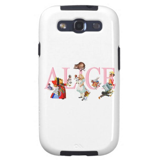 Alice in Wonderland and Friends Samsung Galaxy S3 Covers