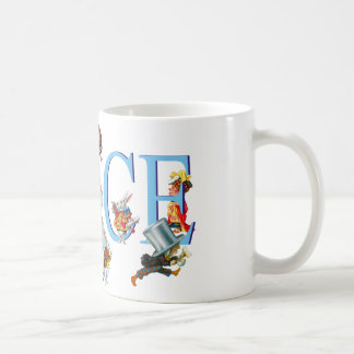 Alice in Wonderland and Friends Coffee Mug