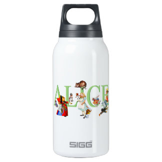 Alice in Wonderland and Friends Insulated Water Bottle