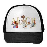 ALICE IN WONDERLAND AND FRIENDS TRUCKER HAT