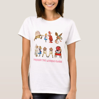 Alice in Wonderland and Her Friends. T-Shirt