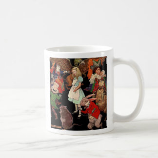 Alice in Wonderland and Jessie Willcox Smith Coffee Mug