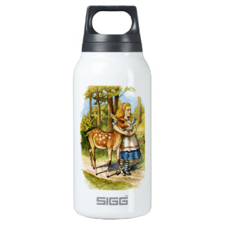 Alice in Wonderland and the Deer Insulated Water Bottle