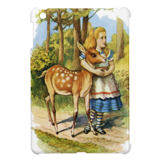 Alice in Wonderland and the Deer iPad Mini Cover