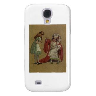 Alice in Wonderland and the Duchess and the Pig Samsung S4 Case