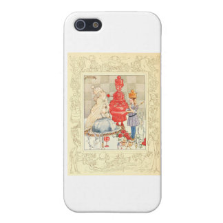 Alice in Wonderland and the Fish Riddle Cover For iPhone SE/5/5s