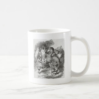 Alice in Wonderland and the Gryphon Coffee Mugs