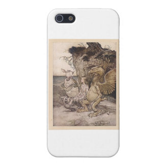 Alice in Wonderland and the Mock Turtle iPhone SE/5/5s Cover
