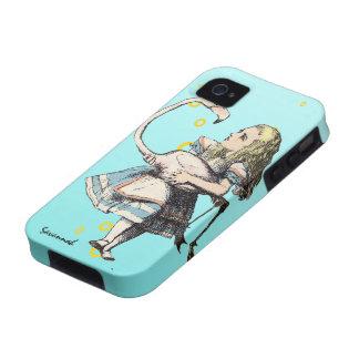Alice In Wonderland Aqua Casemate iPhone 4 Case