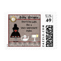 Alice in Wonderland Baby Shower Stamps