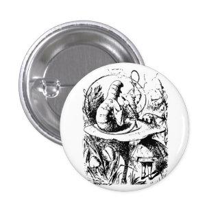 Alice in Wonderland Badge Button