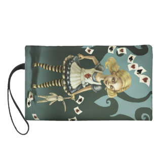 Alice in Wonderland Wristlet