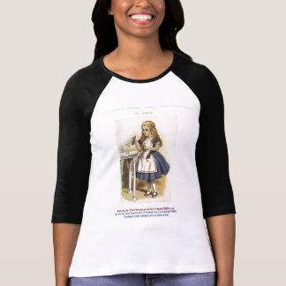 Alice in Wonderland Baseball T Shirt