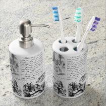 Alice in Wonderland Bathroom set