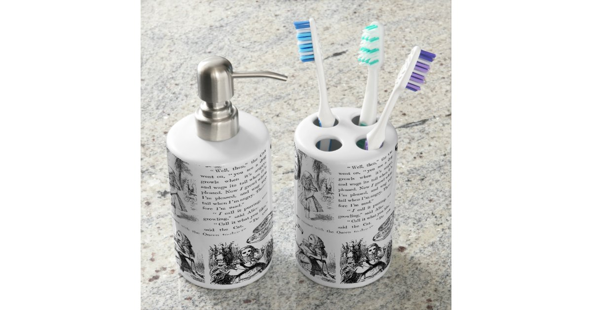 Alice in Wonderland Bathroom set | Zazzle.com