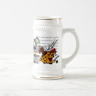 Alice in Wonderland Beer Stein