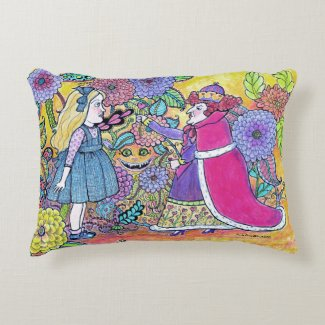 Alice in Wonderland, Believe the Impossible Accent Pillow
