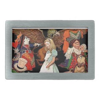 Alice in Wonderland Belt Buckle