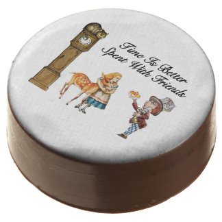 Alice In Wonderland Better With Friends Chocolate Dipped Oreo