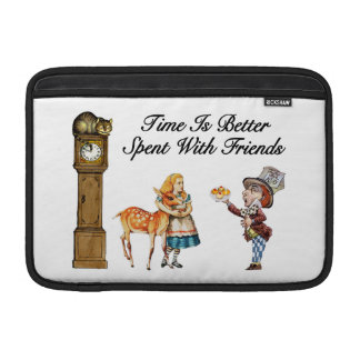 Alice In Wonderland Better With Friends Sleeves For MacBook Air