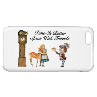 Alice In Wonderland Better With Friends iPhone 5C Case