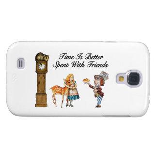 Alice In Wonderland Better With Friends Samsung S4 Case
