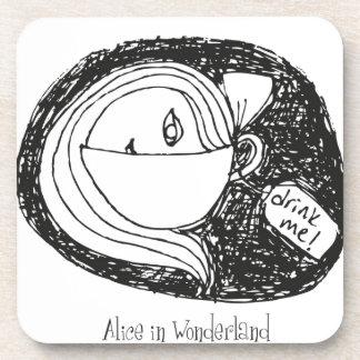 Alice In Wonderland Beverage Coaster