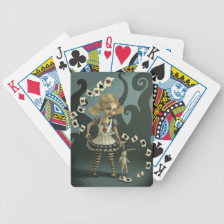 Alice in Wonderland Bicycle Playing Cards