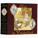 Alice in Wonderland Binder