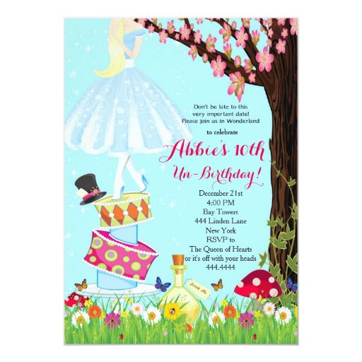 Mad Hatters Tea Party Invitation was awesome invitations layout