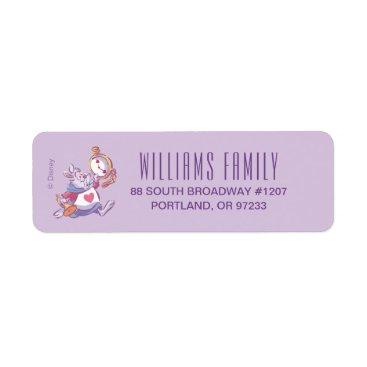 Disney Themed Alice in Wonderland   Birthday Label