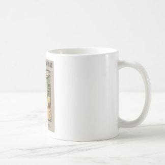 Alice in Wonderland Book Cover Classic White Coffee Mug