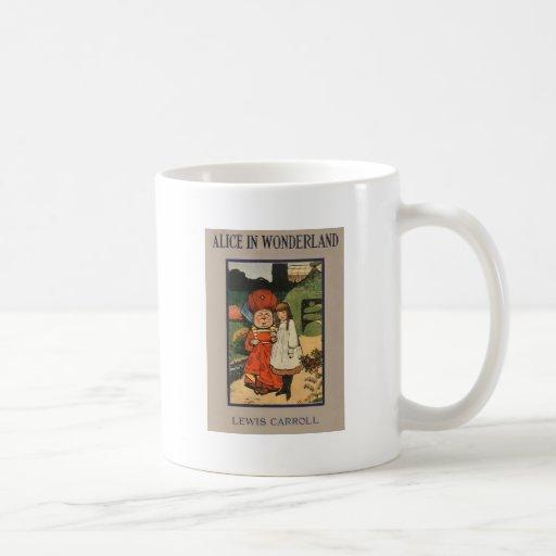 Alice in Wonderland Book Cover Coffee Mug