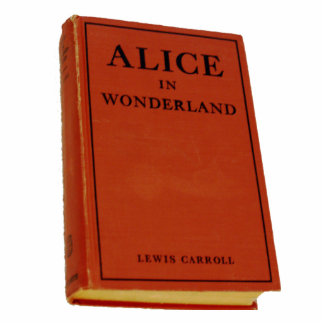 Alice in Wonderland Book Sculpture Acrylic Cut Out