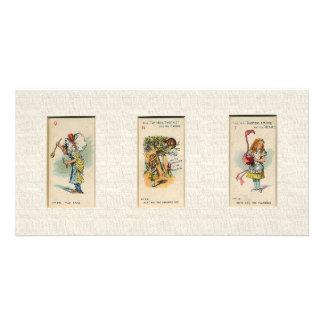 Alice in Wonderland Bookmark Card